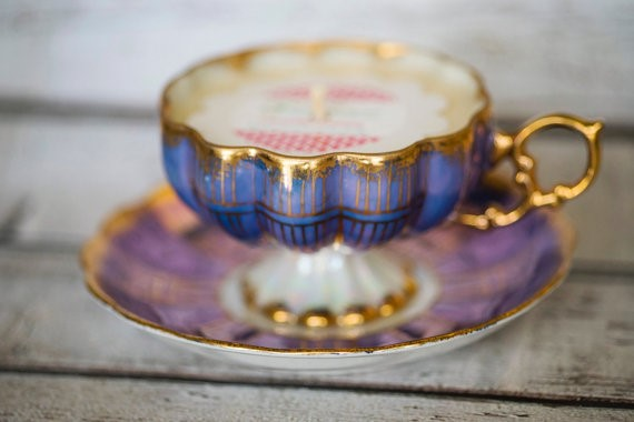 Tea Cup candle Picture